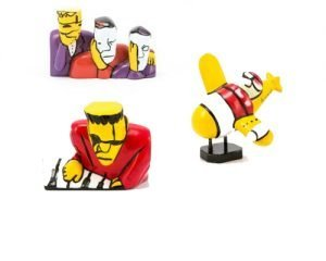 Herman Brood 3D Figurines